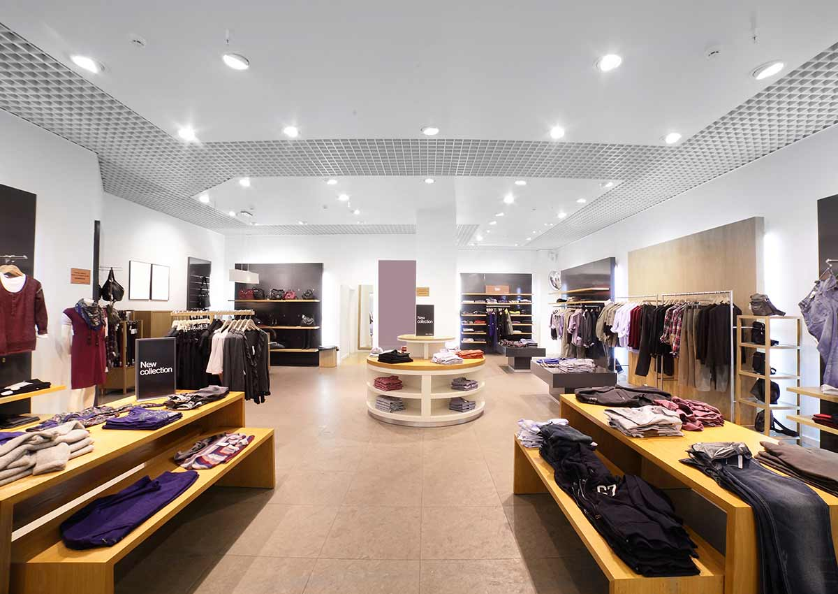 lighting services for retail